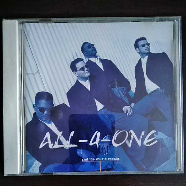 CD オールフォーワンALL4ONE and the music speaks