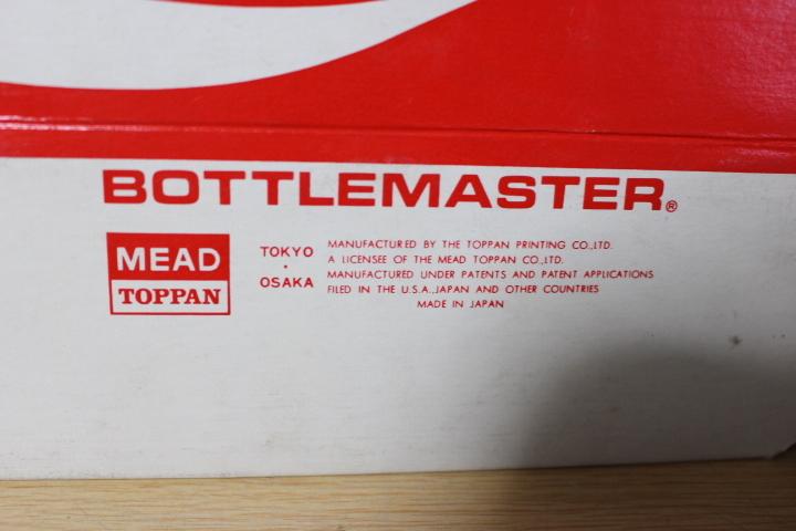 ■ わ-422 コカ・コーラ 瓶入れ カートン(紙製)レギュラーサイズ 未使用保管品 ボトルケース 当時物 貴重 希少 ※寸法は画像下参照_画像2