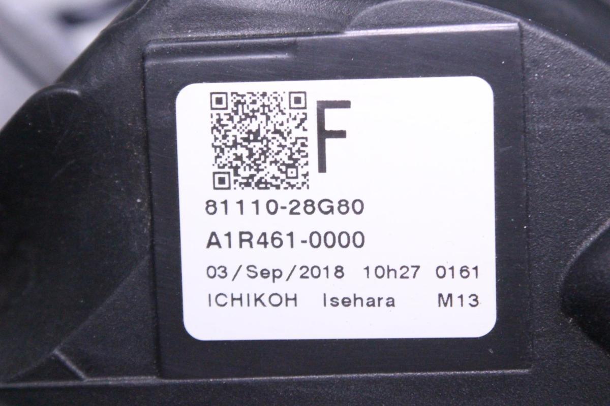 201-1732-H★美品 後期 LED ZRR80 エスクァイア★右ヘッドライト 28-241 打刻 F★ZRR85/ZWR80 ユニット コーナーランプ付 トヨタ 純正 (RO)_画像8