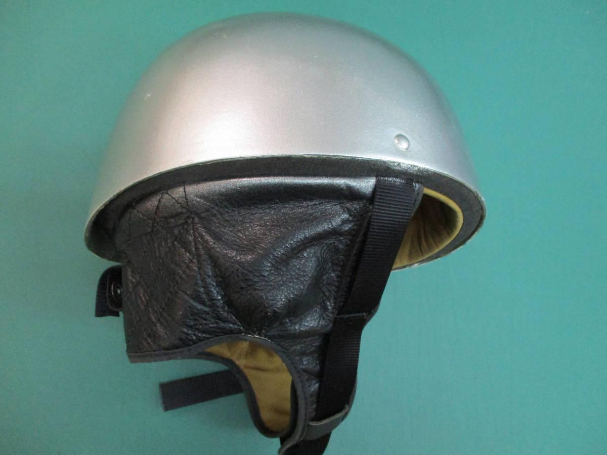クロムウェル Cromwell  ビンテージ TT ハーフ ヘルメット (58-7 1/2) 半キャップ イギリス製 (検/ BSA ノートン ベスパ )_画像2