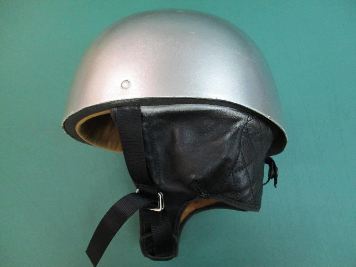 クロムウェル Cromwell  ビンテージ TT ハーフ ヘルメット (58-7 1/2) 半キャップ イギリス製 (検/ BSA ノートン ベスパ )_画像3