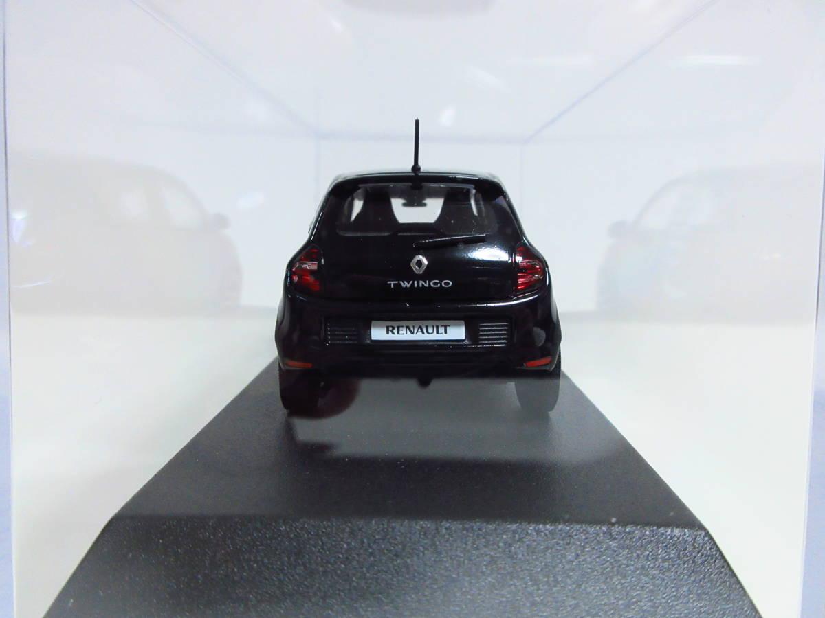1/43 ノレブ NOREV ルノー トゥインゴ Renault Twingo SL Edition One 2014 ミニカー ブラック_画像3