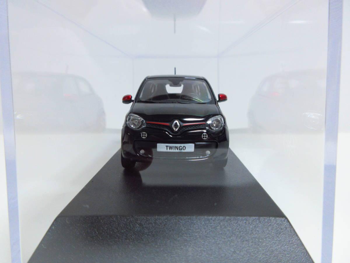 1/43 ノレブ NOREV ルノー トゥインゴ Renault Twingo SL Edition One 2014 ミニカー ブラック_画像2