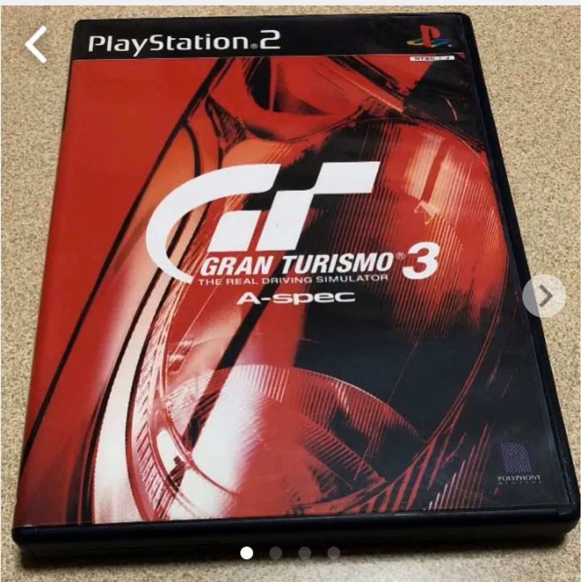 PS2ソフト  Gran Turismo3 A-spec