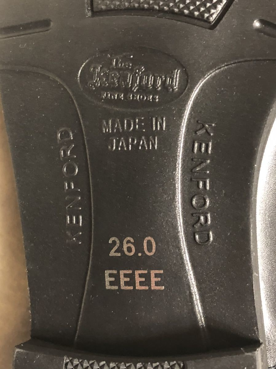 REGAL リーガル ビジネスシューズ The Kenford(KM20 AJ)26cm EEEE 4E Made in Japan_画像3