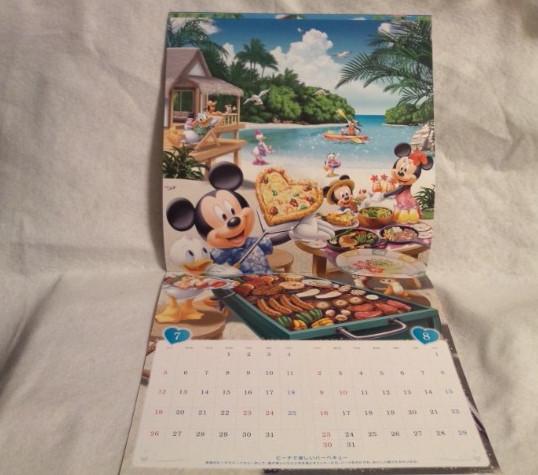非売品 2020年 令和二年 ディズニー 壁掛け カレンダー ミッキーマウス ミニーマウス d POINT CLUB 送料込み ドナルドダック_非売品 ディズニー 2020年 カレンダー