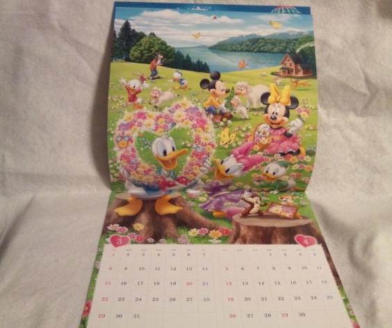 非売品 2020年 令和二年 ミッキーマウス ミニーマウス ディズニー カレンダー壁掛け ドナルドダック_2020年 ミニーマウス 壁掛け カレンダー