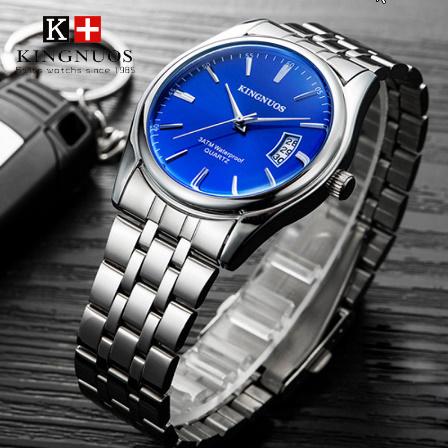 トップブランド 高級メンズ腕時計 30m 防水日付時計男性スポーツ腕時計 男性クォーツカジュアル腕時計レロジオ k-2432_画像2