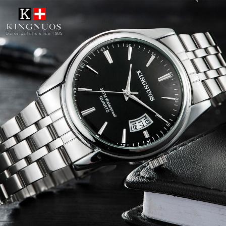 トップブランド 高級メンズ腕時計 30m 防水日付時計男性スポーツ腕時計 男性クォーツカジュアル腕時計レロジオ k-2432_画像1