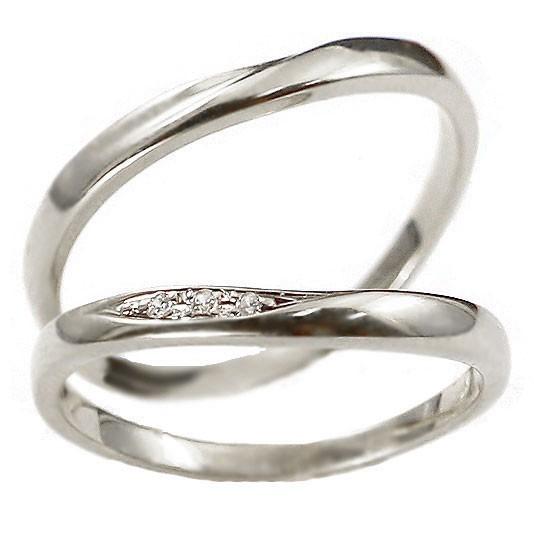 ペアリング プラチナ 2本セット ペア 安い ダイヤモンド 結婚指輪 マリッジリング 地金 pt900 プラチナ900 シンプル 人気 送料無料_画像8