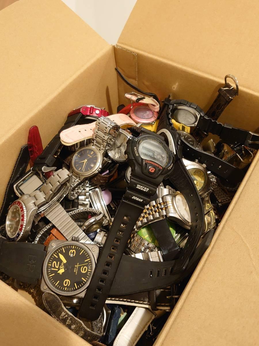 ジャンク品 腕時計セット 50本以上 約3kg SEIKO、CITIZEN、CASIO、SWATCH、RICOH、Q&Q等