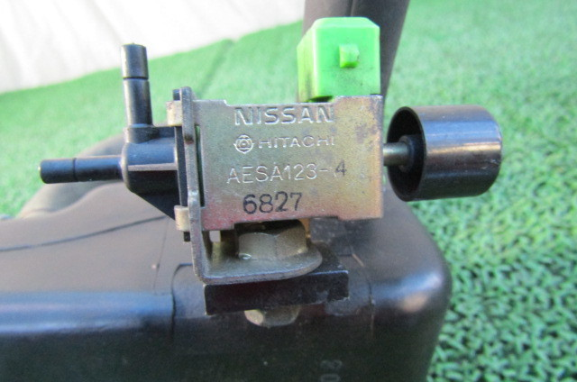 RS13 S13 シルビア 180SX RPS13 純正 EAI ソレノイド付 タンク ボックス SR20DE NA 部品品番 AESA 123-4 6827_画像7