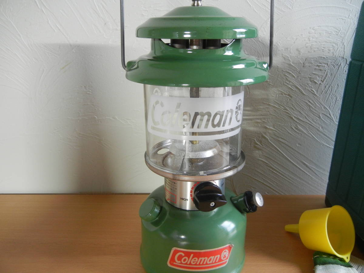Coleman ガソリンランタン Model 282・285 中古 状態良好