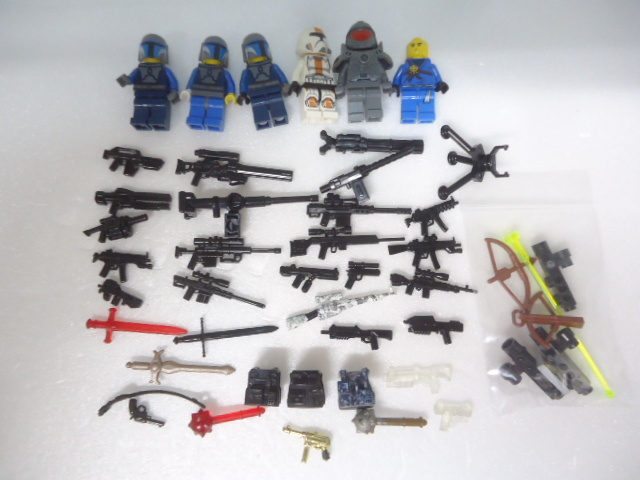 LEGO ミニフィグ【スターウォーズ】武器 他 まとめて セット_画像1