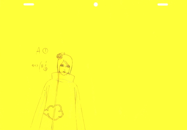 NARUTO☆ナルト直筆ラフ15枚セット_画像6