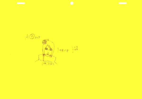 NARUTO☆ナルト直筆ラフ15枚セット_画像7