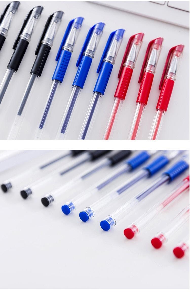 水性ボールペン 【ブラック 20本セット】_画像2
