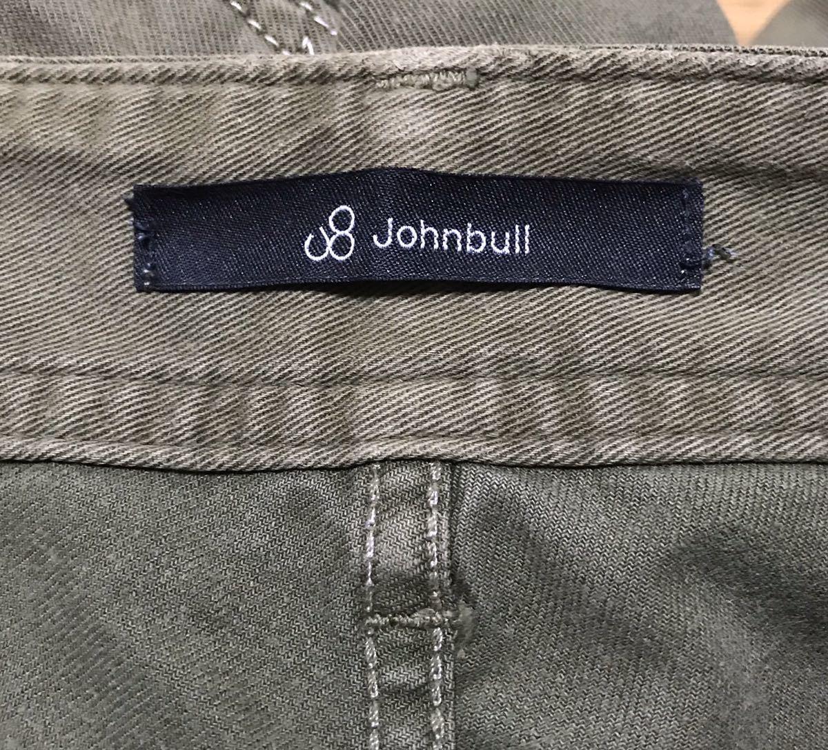 Johnbull(ジョンブル) ワンサイデッドカーゴパンツ Mサイズ カーキ