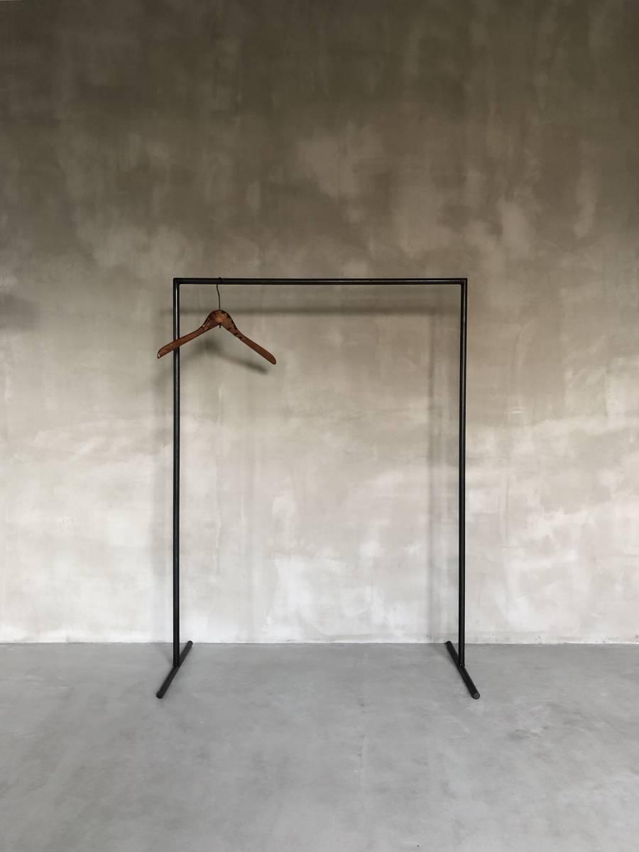 数量限定 HR-Y-M ハンガーラック  アイアン インダストリアル アイアン家具  ディスプレイラック / H120cm W90cm_画像9