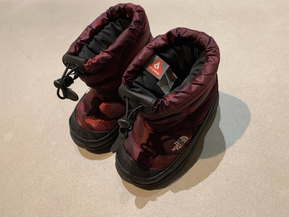 THE NORTH FACE 子供 長靴 15CM キッズ ブーツ