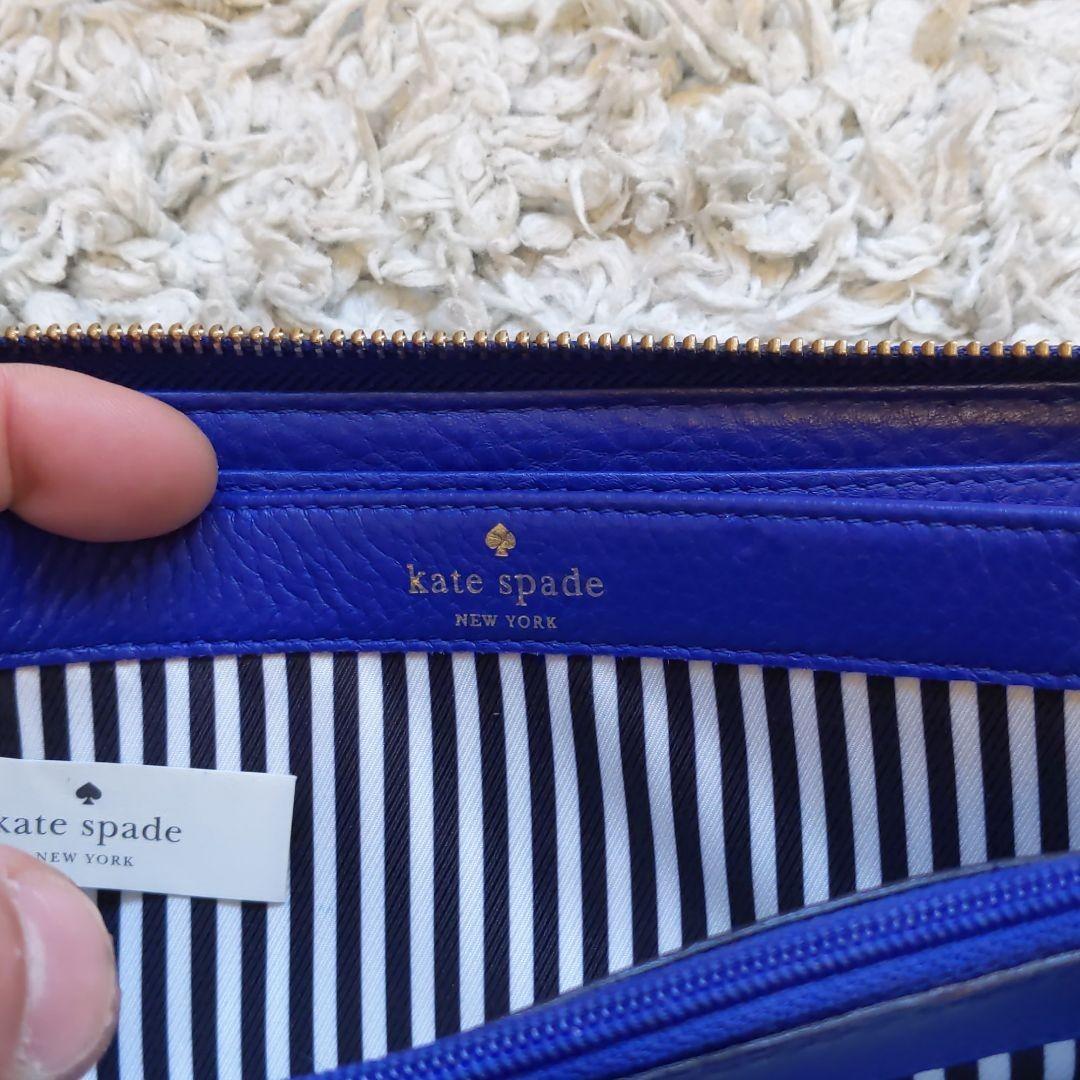長財布 レディース kate spade ケイトスペード ブルー