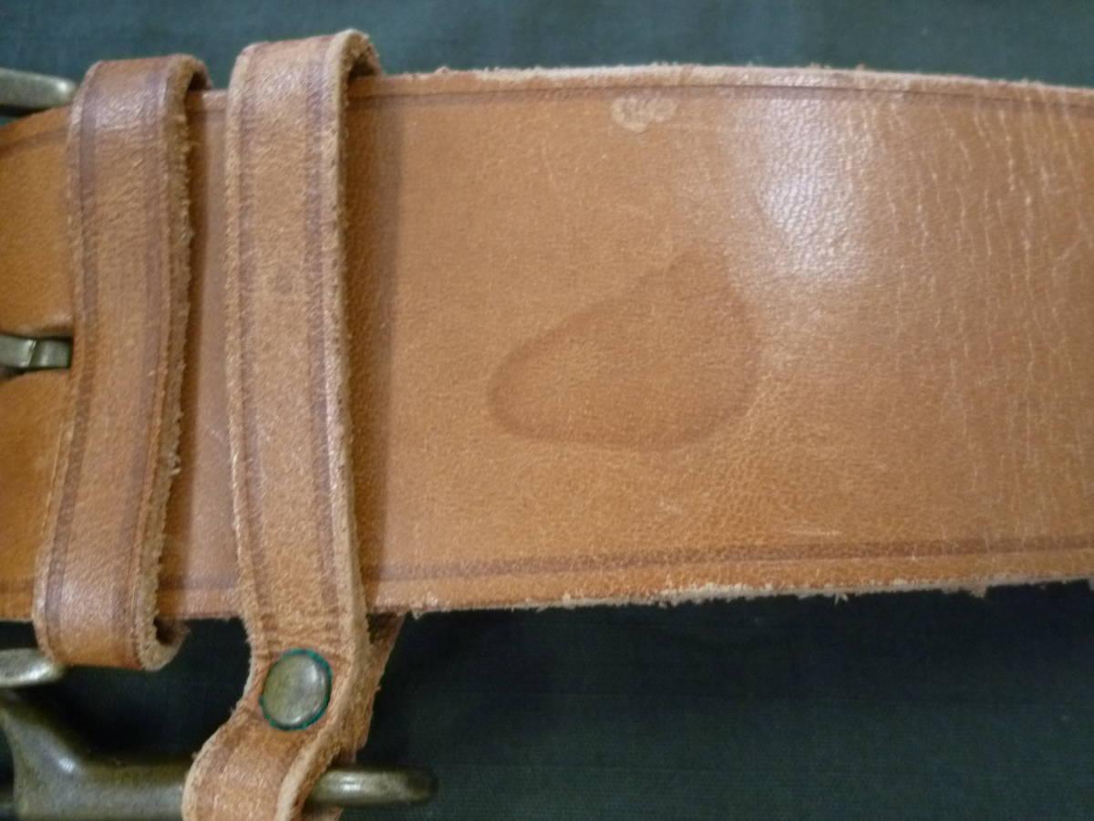 JEAN PAUL GAULTIER ジャンポールゴルチエ キャメル ブラウン ベルト 2本セット サイズM メンズ 収納袋あり 難あり 01