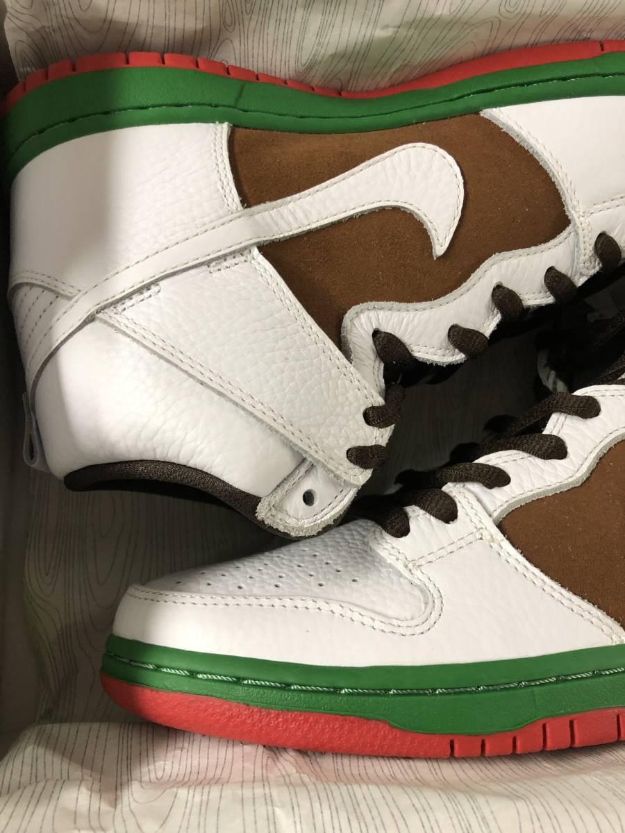 Nike Dunk High Premium SB California 27.5cm 新品未使用デッドストック カリフォルニア US9.5 国内正規品明細書付 2014年_画像2