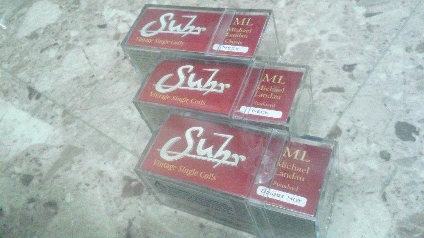 SUHR ML Classic Neck/ML Neck/ML Bridge Hot Parchment Spesial Set 未使用品