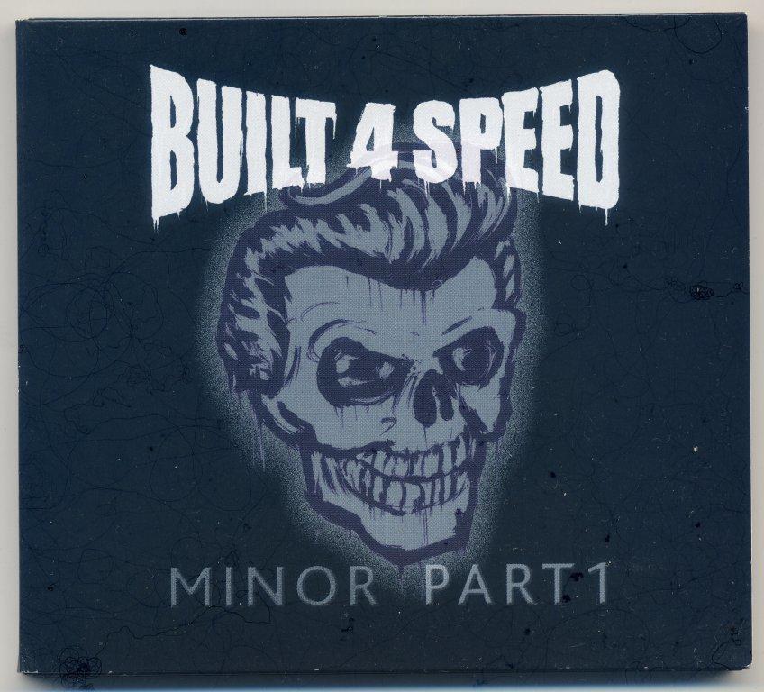 ◆ サイコビリー ◆ BUILT 4 SPEED / MINOR PART1 (CD) ◆ German Psychobilly ◆ 元 Canadian Club メンバー在籍 ◆ ネオロカビリー