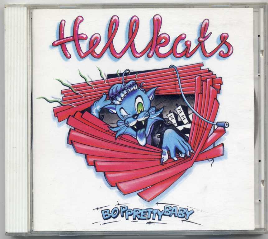 ◆ ネオロカ ◆ HELLKATS / BOP PRETTY BABY (国内CD) ◆ ヘルキャッツ ロカビリー Rockabilly サイコビリー Psychobilly ◆_画像1