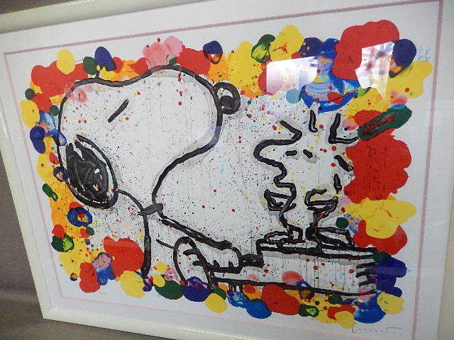 1S298☆ED No.186/350 トム エバハート スヌーピー TOM EVERHART 「Super Ster」☆真作保証