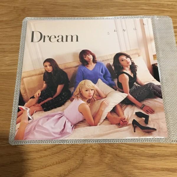 こんなにも シングル, マキシ Dream レンタル落ち 歌詞カードとCDのみでの出品です_画像1