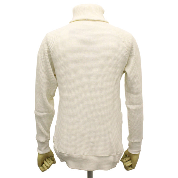 正規 Healthknit (ヘルスニット) 997 スーパーヘビーワッフル タートルネック 長袖Tシャツ HK009 オフS_Healthknit
