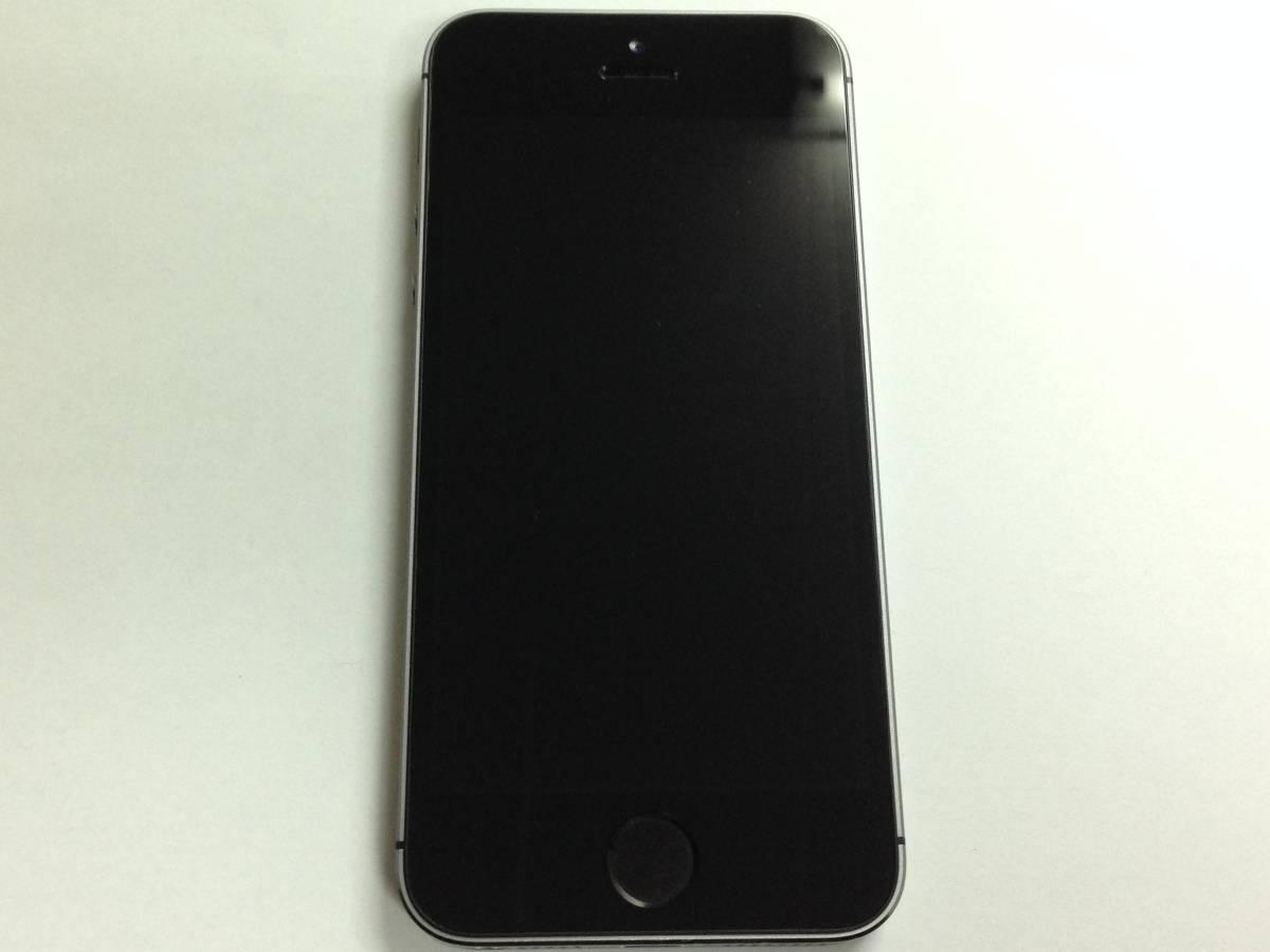 ◆◇345 中古 海外版 SIMフリー iPhone5s 16GB MF352X/A スペースグレイ◇◆