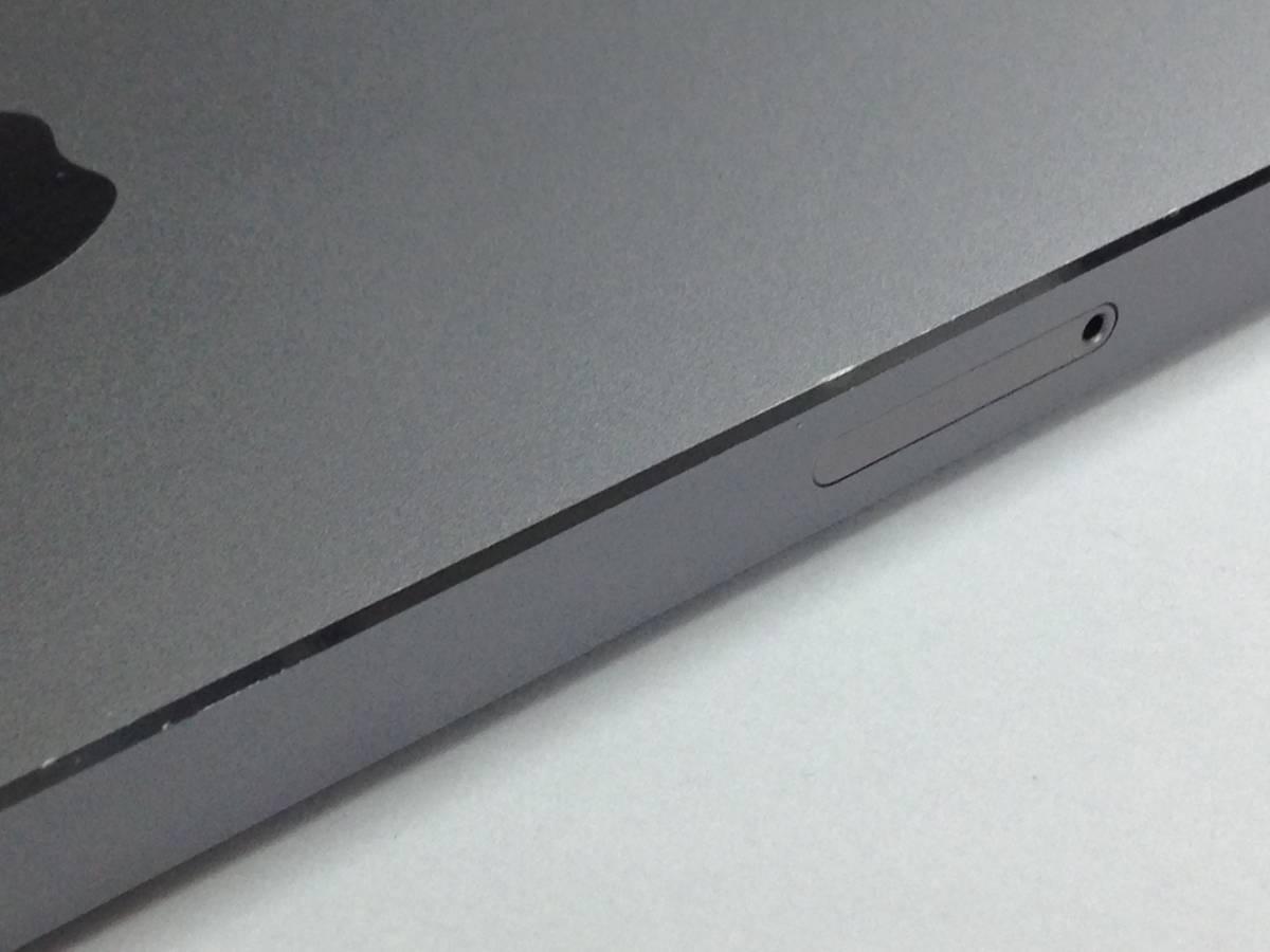 ◆◇345 中古 海外版 SIMフリー iPhone5s 16GB MF352X/A スペースグレイ◇◆_画像6