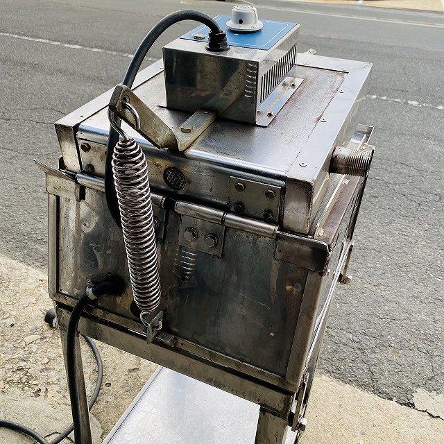 【中古】 イカ焼き器 いか焼 ニチワ NIK-400 タコせんべい 鉄板 業務用 プレス焼き 200v 〔00605〕 _画像9