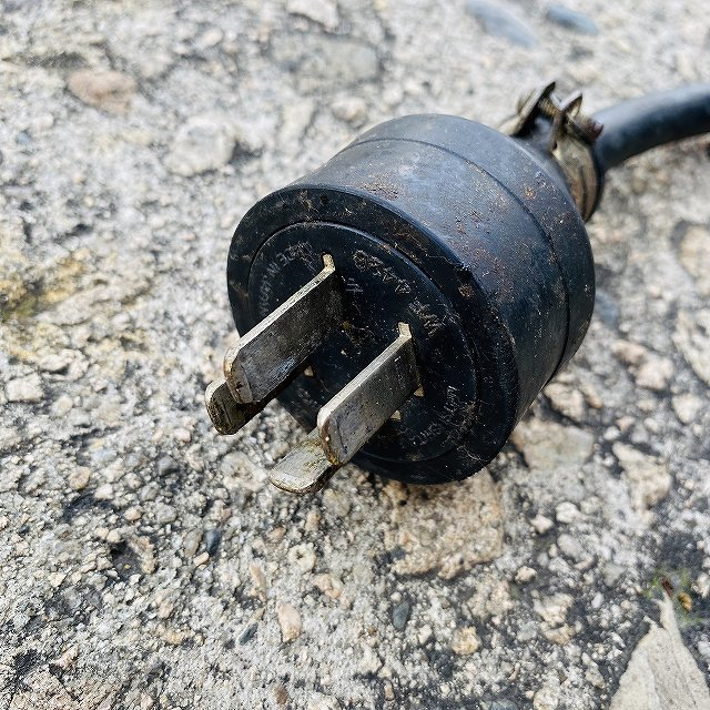 【中古】 イカ焼き器 いか焼 ニチワ NIK-400 タコせんべい 鉄板 業務用 プレス焼き 200v 〔00605〕 _画像10