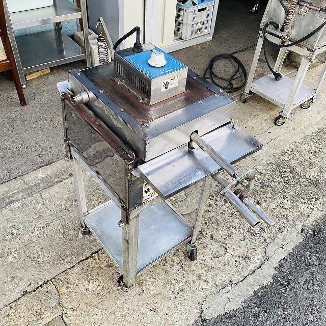 【中古】 イカ焼き器 いか焼 ニチワ NIK-400 タコせんべい 鉄板 業務用 プレス焼き 200v 〔00605〕 _画像5