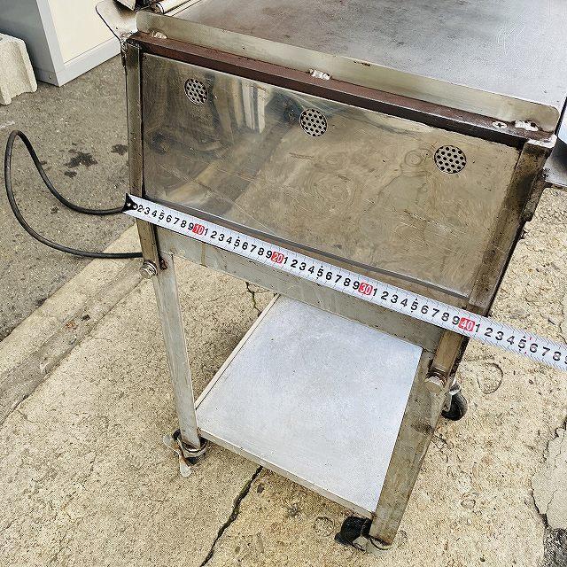 【中古】 イカ焼き器 いか焼 ニチワ NIK-400 タコせんべい 鉄板 業務用 プレス焼き 200v 〔00605〕 _画像7