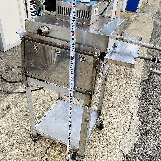 【中古】 イカ焼き器 いか焼 ニチワ NIK-400 タコせんべい 鉄板 業務用 プレス焼き 200v 〔00605〕 _画像8