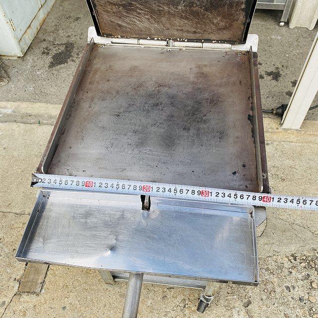 【中古】 イカ焼き器 いか焼 ニチワ NIK-400 タコせんべい 鉄板 業務用 プレス焼き 200v 〔00605〕 _画像6