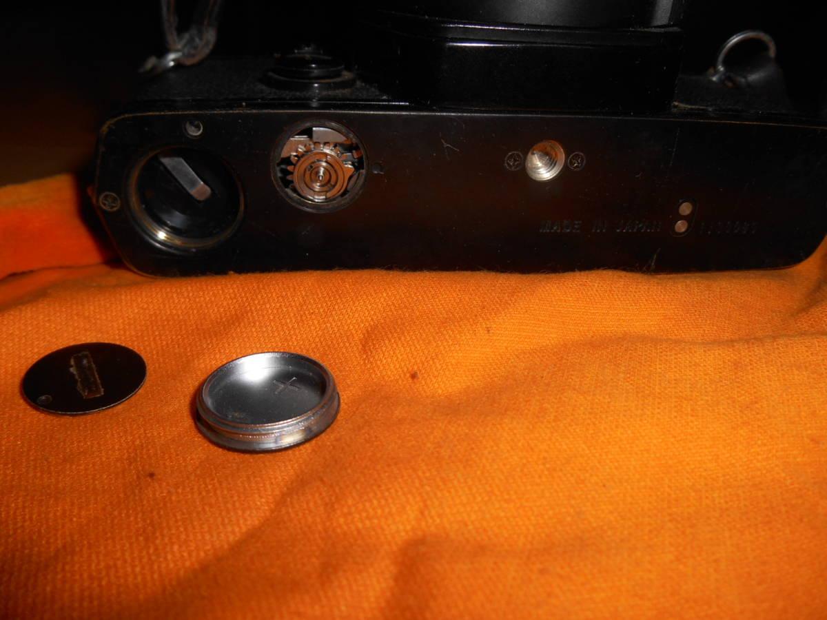ジャンク OLYMPUS OM-1 OM-2(昭和53頃製品当時物取説付き) レンズ&おまけ_画像5