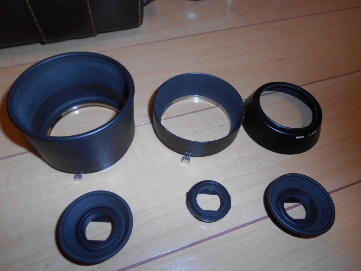 ジャンク OLYMPUS OM-1 OM-2(昭和53頃製品当時物取説付き) レンズ&おまけ_画像6