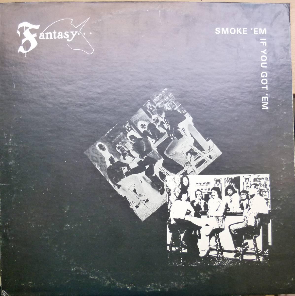 激レア【視聴】Fantasy『Smoke 'Em If You Got 'EM』LP AOR Free Soul Soft Rock_画像1