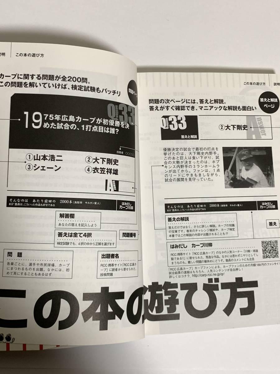 カープ検定 ありがとう広島市民球場・熱き戦いの記録 球団公認 (古本) 広島東洋カープ カープ_画像6