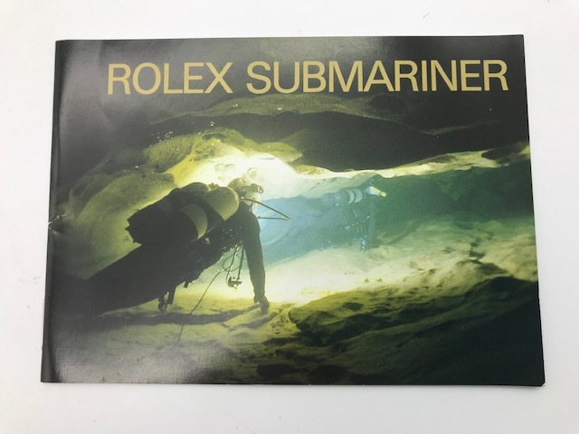 ROLEX ロレックス 2002年製 サブマリーナ 14060M、16610用 冊子 純正品