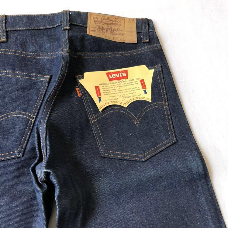 デッドストック! 80s Levi's 505 デニムパンツ W31 USA製 ビンテージ 80年代 リーバイス ジーンズ ジーパン 米国製 米国製 オリジナル_画像10