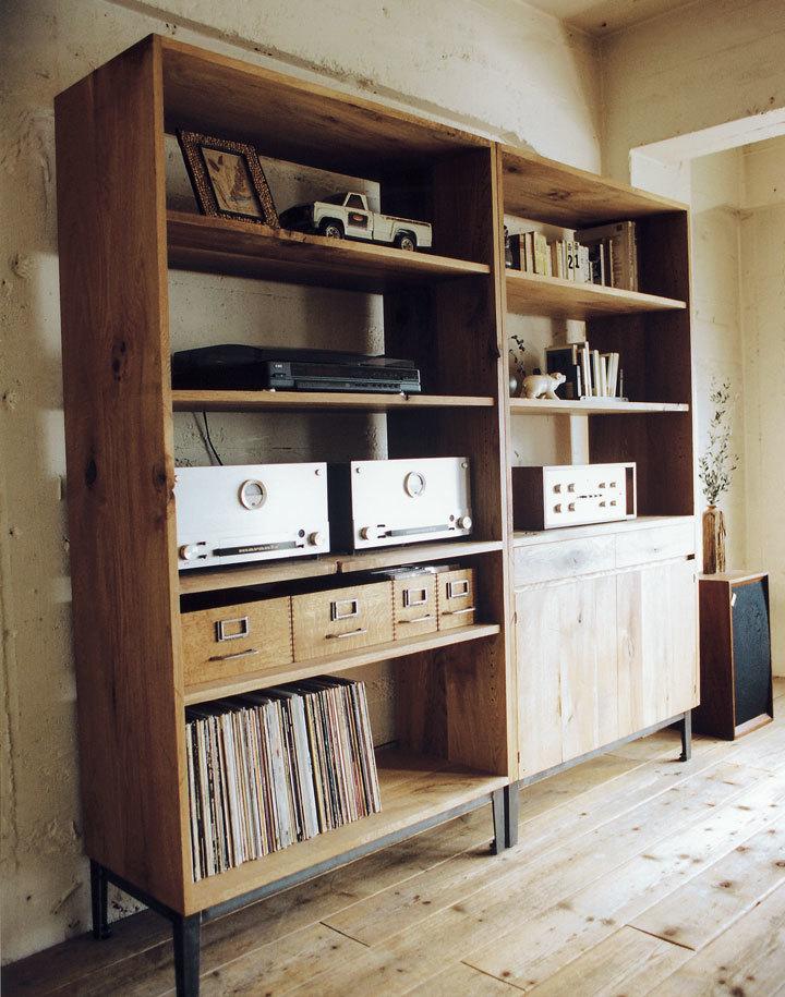 TRUCK furnitureトラックファニチャー FM SHELF OPENタイプ Naturalカラー 飾り棚 食器棚 本棚_画像5