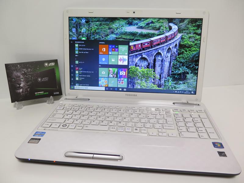 【爆速新品SSD512GB☆超高性能Core i7(Sandy Bridge)】東芝 T451/58EW ホワイト 最新Win1