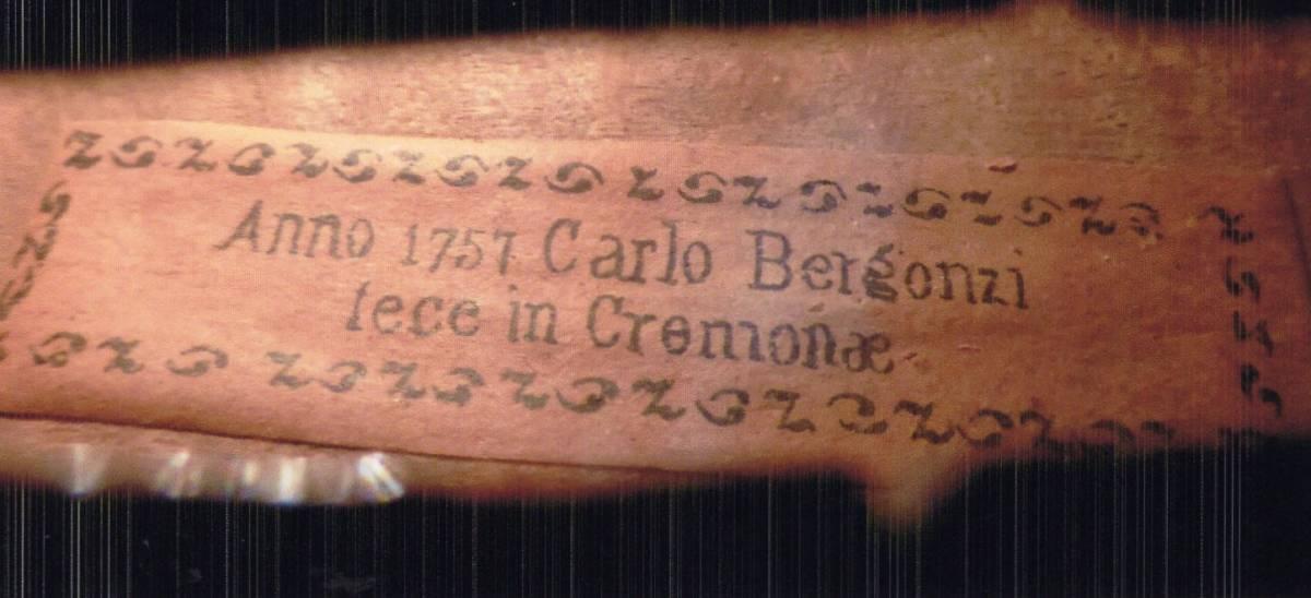 Carlo Bergonzi Label バイオリン 中古バイオリンケー?#24037;膜?/> </a> </div> <div class=